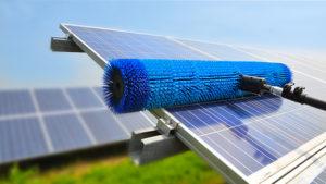 pulizie pannelli solari